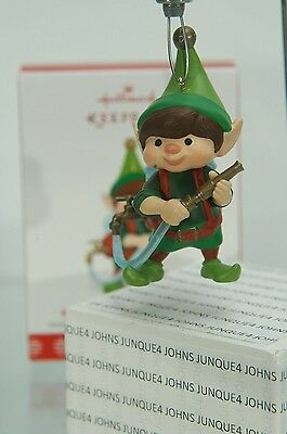 North Pole Tree Trimmers Hallmark Ornament 2017 #5 Ships Out Now~Free Us Ship