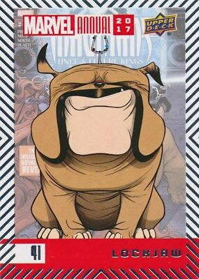 #41 LOCKJAW (2018) 2017 Upper Deck Marvel Annual INHUMANS
