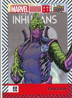 #66 TRITON (2018) 2017 Upper Deck Marvel Annual INHUMANS