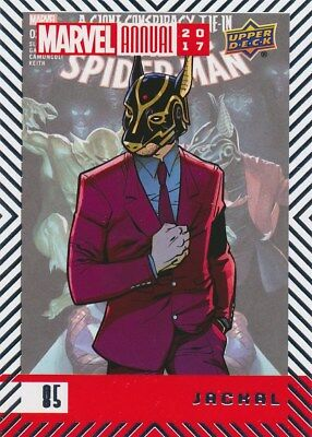 #85 JACKAL (2018) 2017 Upper Deck Marvel Annual SPIDER-MAN