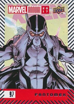 #97 FANTOMEX (2018) 2017 Upper Deck Marvel Annual X-MEN