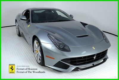 Ferrari F12berlinetta  2014 FERRARI F12 BERLINETTA, GRIGIO TITANIO, 173 MILES, HIGHLY OPTIONED