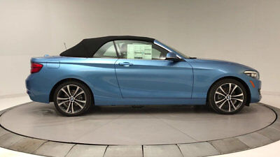 BMW 2 Series 230i 230i 2 Series New 2 dr Convertible Automatic Gasoline 2.0L 4 Cyl Seaside Blue Me