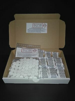 50 cleaning +30 descaling tabs for Saeco AEG Jura Krups WMF Philips Delonghi