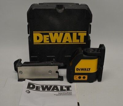 DeWALT DW088CG Cross Line Green Laser Level 2-Beams Measure Layout Tool