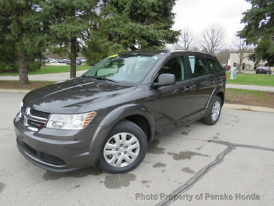 Dodge Journey FWD 4dr American Value Pkg FWD 4dr American Value Pkg SUV Automatic Gasoline 4 Cyl Engine Granite Crystal M