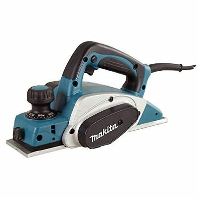 """Makita KP0800KX 3-1/4"""" Planer with Carrying Case and Extra Set of Blades, Blue"""