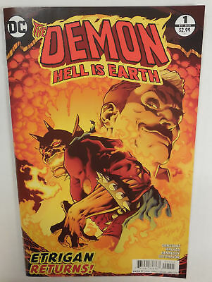 The DEMON HELL IS EARTH # 1 Comic 1ST PRINT ~ DC Rebirth NM/UNREAD 2017