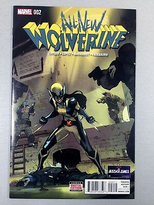 ALL-NEW WOLVERINE #2 KEY X-23 1st GABBY Honey Badger NM SEE MY OTHER AUCTIONS!