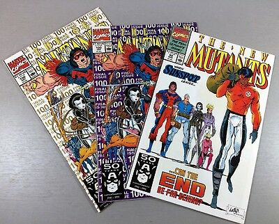 NEW MUTANTS #99 +100 1st +2nd Print LOT 1st Shatterstar NM SEE MY OTHER AUCTIONS