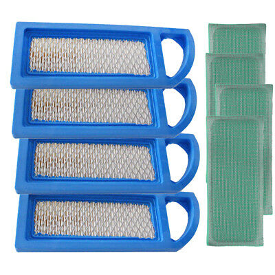 4PCS Air Filter & Pre-Filter For Briggs & Stratton 697153 698083 795115 697015