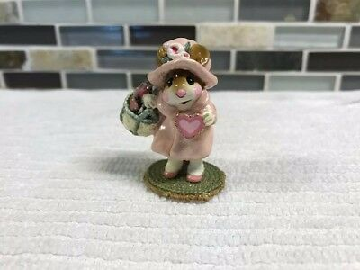 """Wee Forest Folk Valentines-M-318- """"Have a Heart"""" Pink- Mint Condition"""