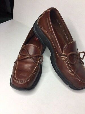 bd47693afde Cole Haan Country KO7340 Stitched Driving Boat Dock Loafer Men s U.S. 9 M  Brown