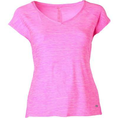 Marika Curves 7685 Womens Charged Pink Quick Dry T-Shirt Athletic Plus 3X BHFO
