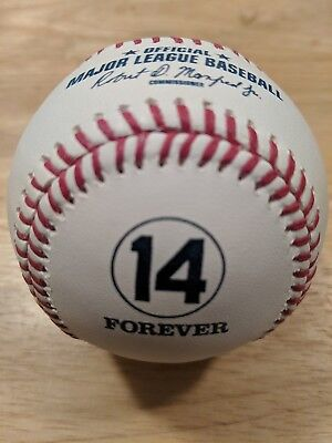 PETE ROSE Official Rawlings FOREVER #14 Baseball CINCINNATI REDS
