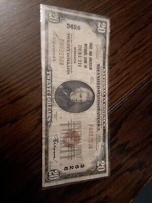 1929 Duluth, MN national bank note