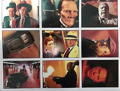 Walt Disney™ DICK TRACY Sticker Series RARE VINTAGE Trading Cards FULL SET