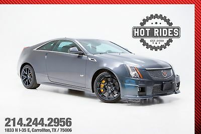 Cadillac CTS-V Coupe Cadillac CTS-V Coupe w/ Recaros 2012 Cadillac CTSV Coupe 556hp Supercharged v8! Rare color! MUST SEE