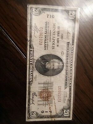 1929 Minneapolis, MN National bank note