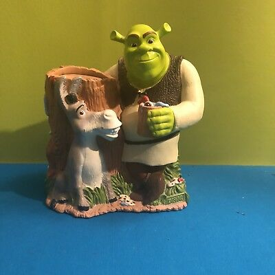 SHREK 2 & Donkey Collectible DIXIE CUP HOLDER DISPENSER 887 Kids Bathroom Decor