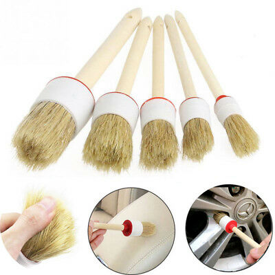 Soft Car Detailing Brushes Cleaning Tools for Trim Dash Seat Wheel Computer