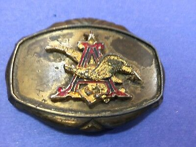 Vintage 1978 Anheuser Busch Budweiser Beer Belt Buckle - Made in USA Raintree