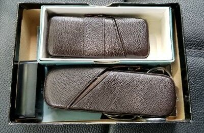Minox B Camera Silver & BC Flashgun with leather cases Boxes & Owner's Manual