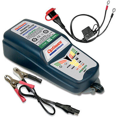 Charger Optimate TM - 290 TechMate Motorrad Battery Lithium Lithium 450156