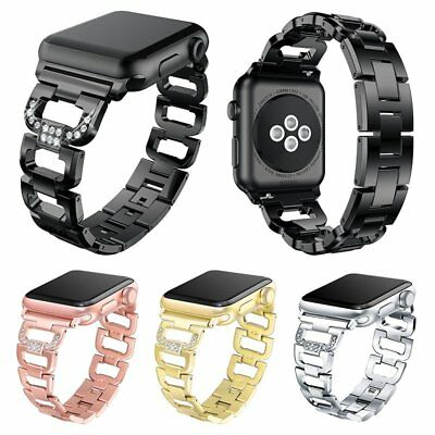 Stainless Steel Smart Watch Band Strap For Apple Watch Series 3/2/1 38mm 42mm UK
