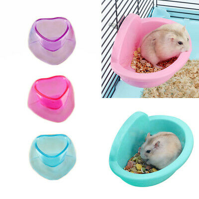 EASY Small Pet Hamster Rabbit Pig Kitten Rabbit Plastic Water Food Feeding Bowl
