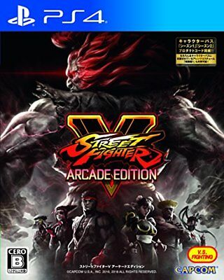 Used PS4 STREET FIGHTER V ARCADE EDITION Japan Import