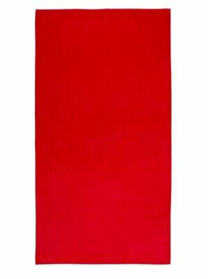 Adidas Beach Towel Red Swimming Gym Large Size