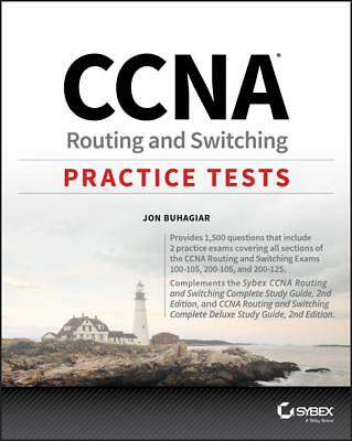 [ PDF ] CCNA Routing and Switching Practice Tests Exam 100-105, 200-105, 200-125