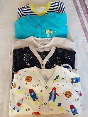 Baby boys sleepsuits age 12-18 months, brand new without tags, Next and Asda