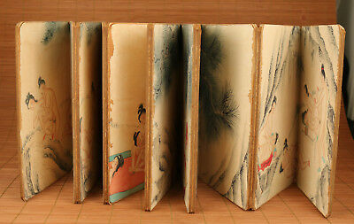 Chinese Paper Collection Art Noble Gift Painting Belle Book Scroll