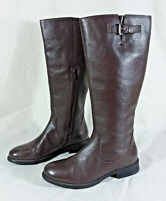 ALEX MARIE Tall Damenschuhe Chocolate Braun Leder Tall MARIE Riding Stiefel Damenschuhe ... 304dbb