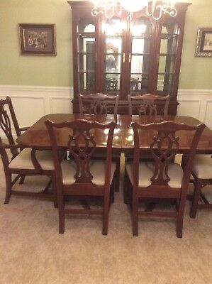Knob Creek Solid Cherry Dining Room Set Excellent Condition