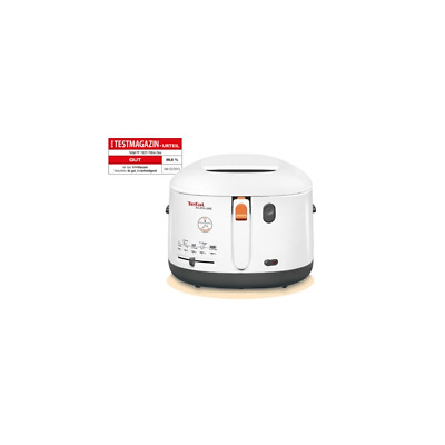 Tefal FF 1631 Fritteuse One Filtra Weiß/Anthrazit