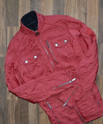 Women's Barbour International Trail Quilted Jacket  Red UK 6 US 4 EUR 34 Spring