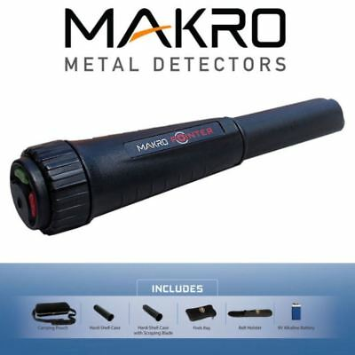 Makro Waterproof Pinpoint Probe / Pro-Pointer - 2 Year Wrnty - DETECNICKS LTD
