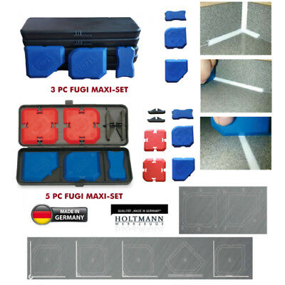 Holtmann Fugi 5 Kit 5Pc & 3Pc Grouting & Silicone Profiling & Applicator Tool