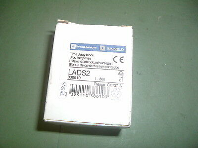 Telemecanique ....lads2 .........time Delay Block 1-30S Part 038610 New Packaged