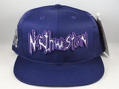super popular f806a a4477 Kids Youth Size Northwestern Wildcats NCAA Vintage Snapback Cap Hat