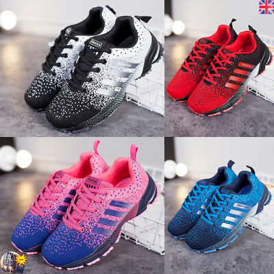 Men's Athletic Sneakers Outdoor Sports Running Casual Shoes Breathable Trainers