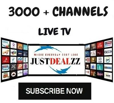 IPTV SUBSCRIPTION -Private Server- 3300+ LiveTV + 18,000+ VOD  / IPTV SERVICE