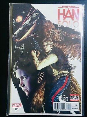 Star Wars: Han Solo Comic Books; Complete Collection - Issues 1-5.