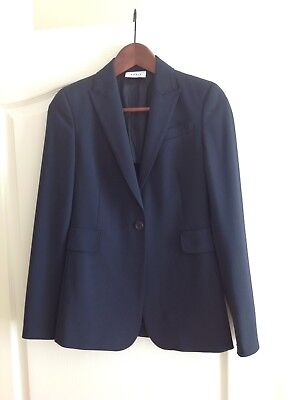 Akris Punto Slim Cut  Wool Blazer Size 2