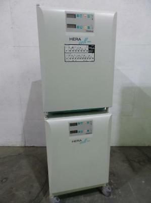Stack of 2 Thermo Kendro HERAcell Haraeus 150 CO2 Incubator Ovens