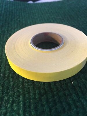 monarch 1110 Yellow Blank  Price Marking Labels