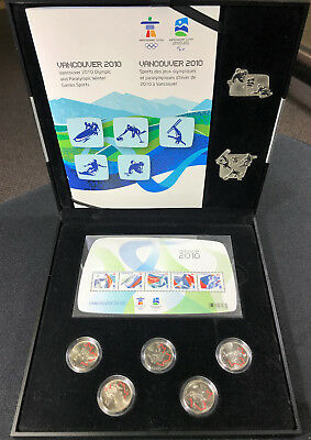 2010 Vancouver Olympic Winter Games - Silver Collector Set + BONUS - No Reserve!